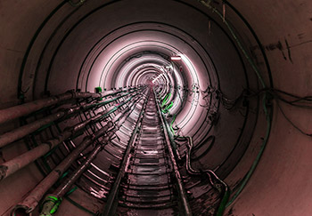 to the microtunnelling gallery